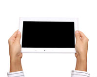White tablet pc Stock Image