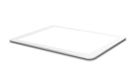 White Tablet PC Royalty Free Stock Image