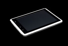White tablet pc Royalty Free Stock Photography