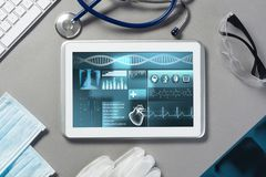 Digital technologies in medicine Royalty Free Stock Photos