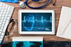 Digital technologies in medicine Royalty Free Stock Photography