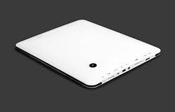 White tablet pc Stock Images