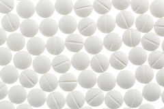 White tablets in abundance Stock Photography