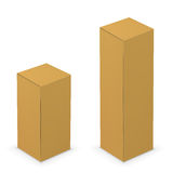 White tall box Royalty Free Stock Photo