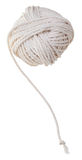 White tangle of cotton rope Stock Photos