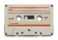 White Tape Cassette Stock Photos