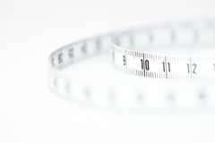 White tape measure Royalty Free Stock Photo