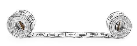 White tape measuring Stock Image