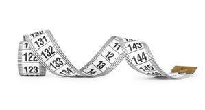 White tape measuring Royalty Free Stock Photo