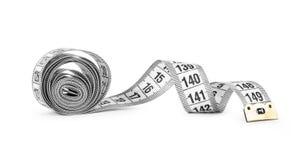 White tape measuring Stock Photos