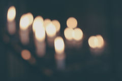 White Taper Candle Royalty Free Stock Photo