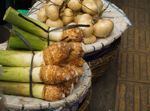 White Taro and  Yam is one of popular food from Bogor photo taken in  Indonesia Stock Images