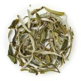 White Tea China Special Snow Buds 22567. White tea China Special Snow Buds blend raw isolated on pure white Royalty Free Stock Photo