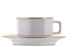White tea cup Royalty Free Stock Photo