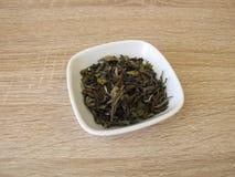 White tea Darjeeling from North India Stock Photo