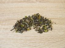 White tea Darjeeling from North India Stock Image