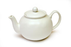 White tea kettle Stock Image