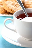 White teacup Stock Images