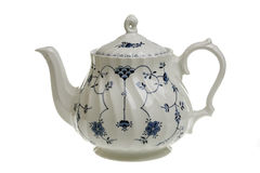 White teapot Royalty Free Stock Photos