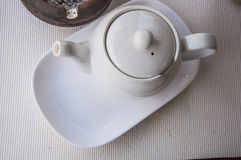 White teapot Royalty Free Stock Photo