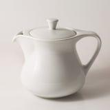 White teapot Stock Photography