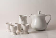 White teapot Royalty Free Stock Photos