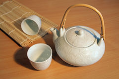 White teaset Royalty Free Stock Images