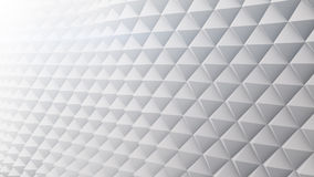 White techno surface 3D render Royalty Free Stock Photography