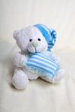 White teddy Royalty Free Stock Photos