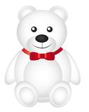 White teddy bear Royalty Free Stock Photos