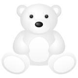 White teddy bear Royalty Free Stock Photos