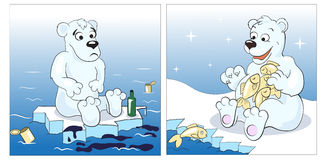 White Teddy bear Stock Photography