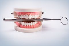 White teeth Royalty Free Stock Photography