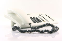 White telephone Royalty Free Stock Photo
