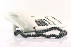 White telephone Royalty Free Stock Photo