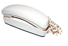 White Telephone/Isolated stock photos