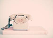 White telephone Stock Photography