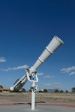 White telescope at outdoor Stock Photography