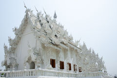 The White Temple Stock Photo
