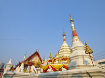 White temple Royalty Free Stock Photography