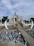 White Temple Stock Images