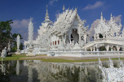 White Temple in Chiang Rai. Thailand Stock Images