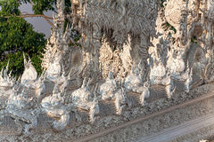 White Temple Chiang Rai Royalty Free Stock Images