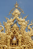 White Temple in Chiang Rai, Royalty Free Stock Images
