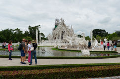 White Temple. Royalty Free Stock Image