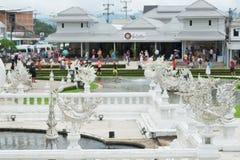 White Temple. Stock Photo