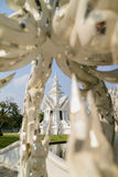 White temple, Chiang Rai, Thailand Stock Images