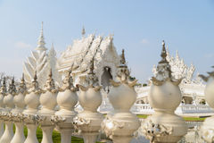 White temple, Chiang Rai, Thailand Royalty Free Stock Photography