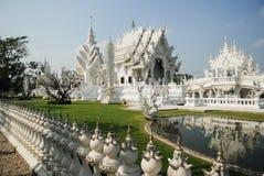 White temple, Chiang Rai, Thailand Royalty Free Stock Photo