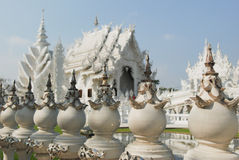White temple, Chiang Rai, Thailand Stock Photography